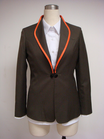Fashion Man's Stylish Collar Suit Coat Uniform