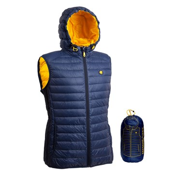 Foldable Feather And Down Travel Jacket