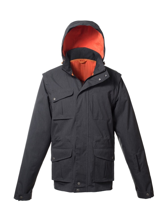 Travel multipocket jacket