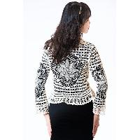 Ladies Chemical Lace Cardigan