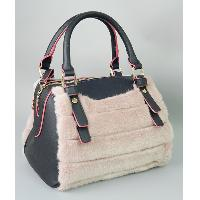 Faux Fur Bag, 140TC01-PP