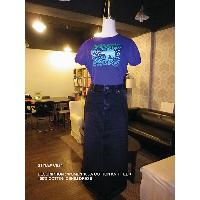 Women's 100% Cotton Knit Tee + 100% Cotton Denim Dress