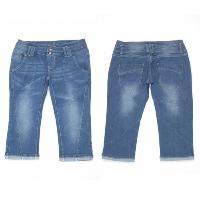 Ladies Denim Bermuda