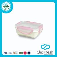 Ceramic Retangular Food Storage (Clip Lock) 280ML