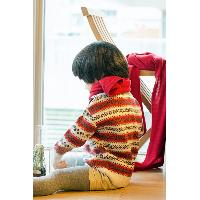 Kids Wool Patterned Pullover, GG-TE01