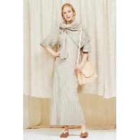 Ladies Cashmere Waffle Stitch Pullover + Ribbed Dress