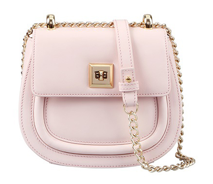 Pink / White / Red / Blue Cowhide Leather Fashion Casual Top Handle Ladies' Handbag Shoulder Bag