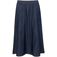 Ladies Denim Long Skirt