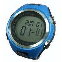 Large Screen Display Dual Time Zone High-accuracy Wrist Stopwatch 100 LAP