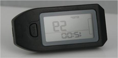 Black 3D Sensor Accurate Pedometer w/ Belt Clip Functional Auto Sleep Portable (7 Days Memory)