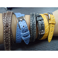 Alligator Flank Bracelets