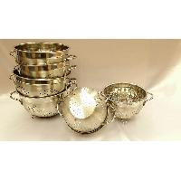 6 pcs Stainless Steel Colander