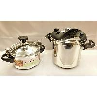 Stainless Steel OR Aluminium Pressure Cooker