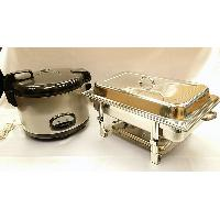 Stainless Steel Rice Cooker & Chafing Dish