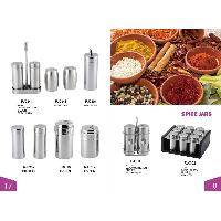 Stainless Steel Spice Jars