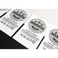 Printed Tyvek Label