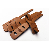 Leather Zipper Pull