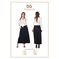Draped Shirt, Pant with Pleats