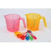 Cup Measuring Cup Set of 6 Plastic Measuring Spoon