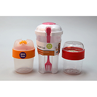 Salad & Yogurt Cup Set