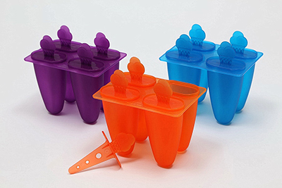 4-slot Ice Cream Handle Ice Lolly Maker