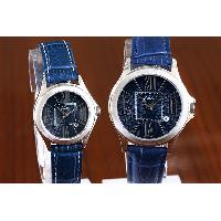 Romantic Hot Waterproof 5ATM Sale Fashion Croc Leather Band Roman numerals Couple Watch, WK12060