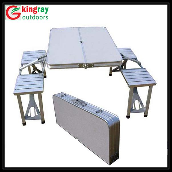 Folding Camping Table Chair Set