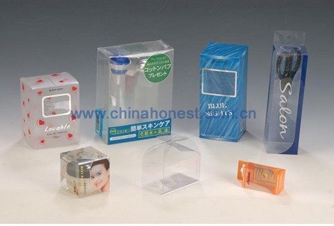 Colorful Printed Plastic Boxes