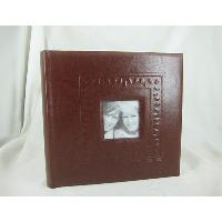 PU Cover 2UP Book Bound Album