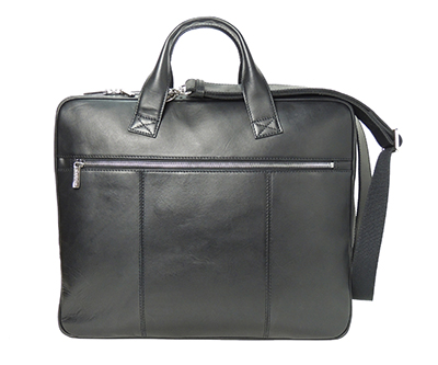 Castello Business Leather Laptop Document Briefcase