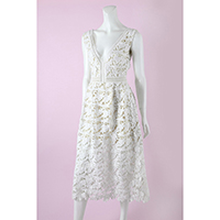 Embro Lace Midi Dress