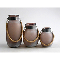 Matte Brown Lantern, 84YP1416F043-457/8/9-GB