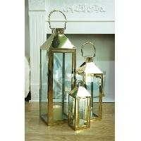 Metallic Gold Lantern Collection