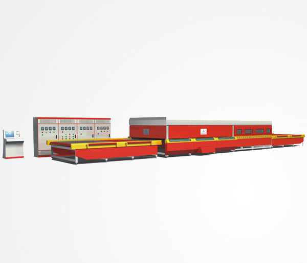 GX-P Series Horizontal Roller Hearth Flat Glass Tempering Furnace