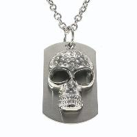Stainless Steel Skeleton Pendant