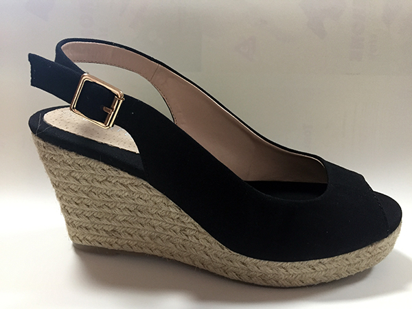 Wedge Sandals with Rope