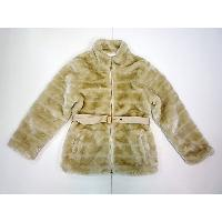 Girl's Fake Fur Jacket