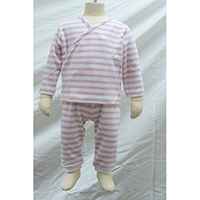 Striped Baby Girls Jersey Set, BBPS1
