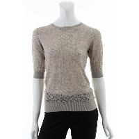 Ladies 55% Silk 45% Cashmere Knitted Blouse