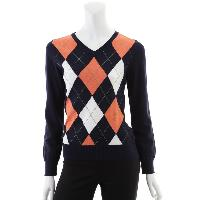 Ladies 90% Cotton 10% Cashmere Knitted Pullover
