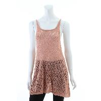 Ladies 80% Acrylic 15% Polyester 5% Metali Knitted Vest