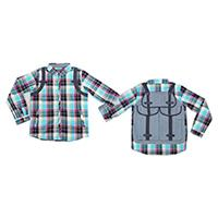 Boy's 100% Cotton Woven Shirt