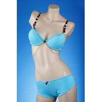 Padded Wire Brassiere/Thong Set