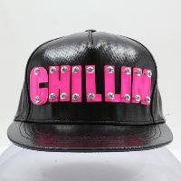 Coated Canvas Trucker Hat with Laser-Cut 3D Letters
