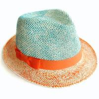 Color Painted Straw Hat