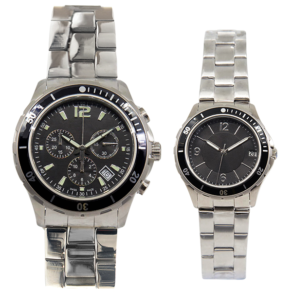 Pair of Sportive and Active Style Watch